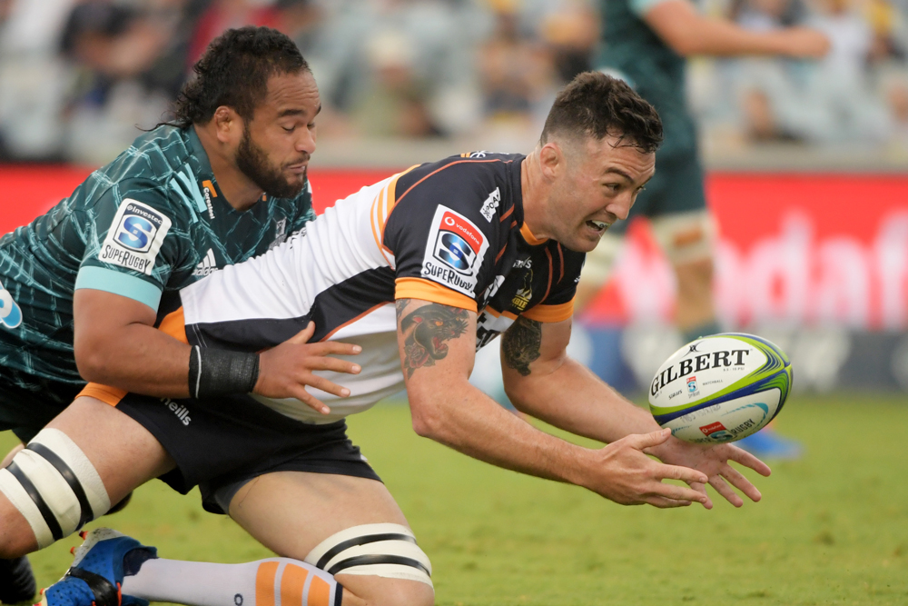 Cadeyrn Neville has been solid for the Brumbies. Photo: Getty Images