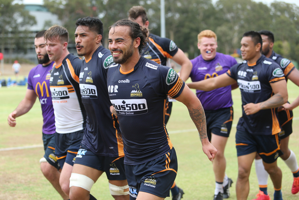 Andy Muirhead says there's no mental baggage for the Brumbies heading to New Zealand. Photo: Getty Images