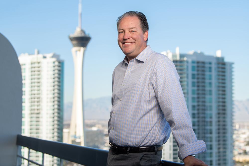 New MLR Commissioner George Killebrew in Las Vegas on the weekend. Photo: Stuart Walmsley