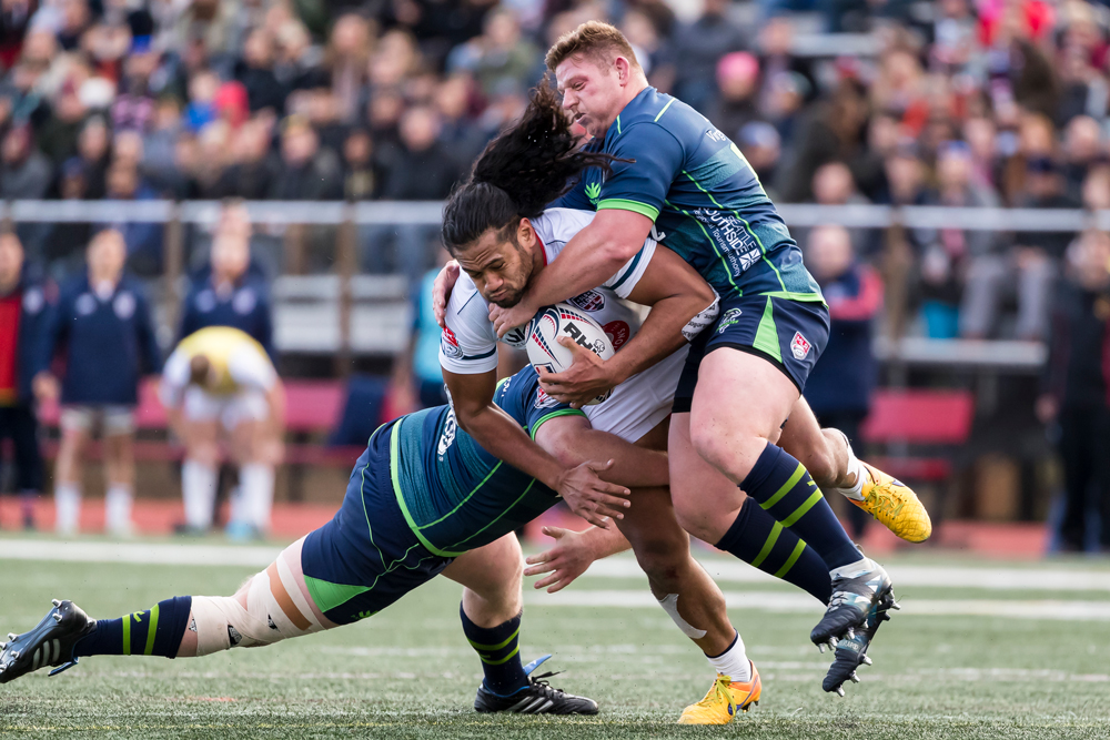Tim Metcher in action for Seattle in Washington DC. Photo: Getty Images