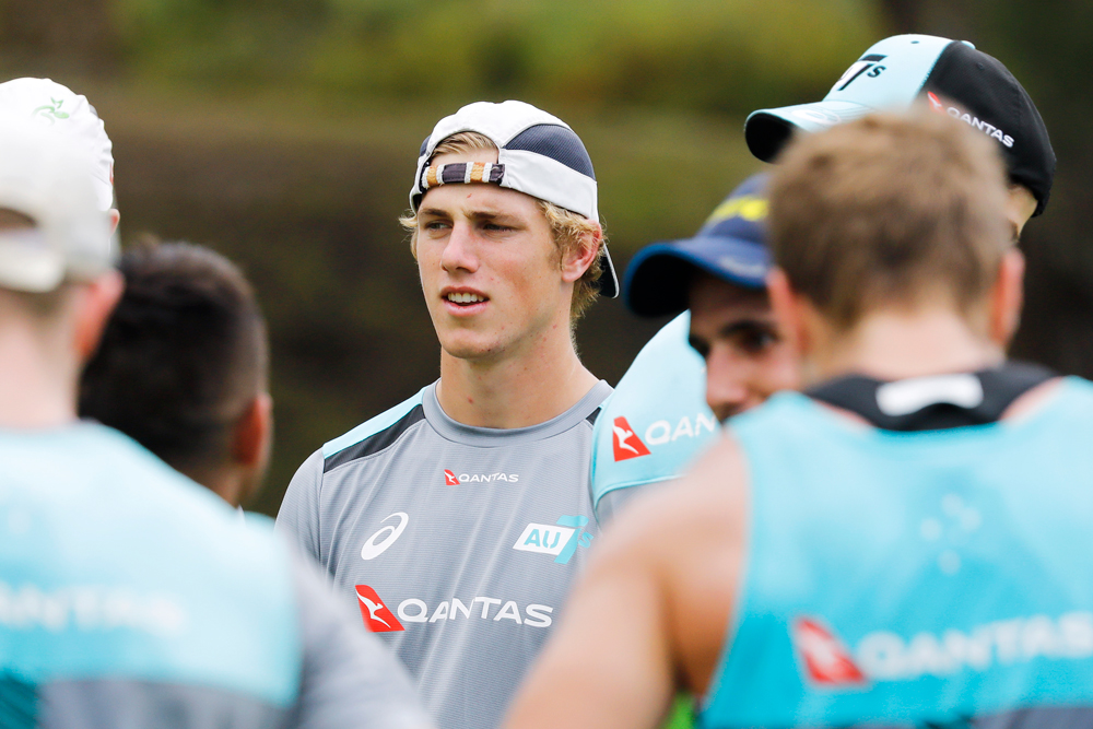 Angus Bell will make his World Series debut in LA. Photo: Rugby AU Media/Karen Watson