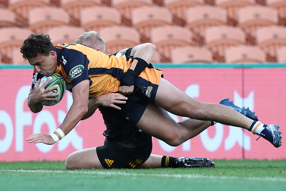 Tom Banks scored the first try of the game. Photo: Getty Images