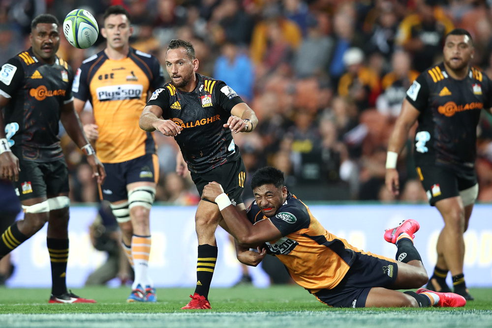Aaron Cruden helped build a late Chiefs revival. Photo: Getty Images