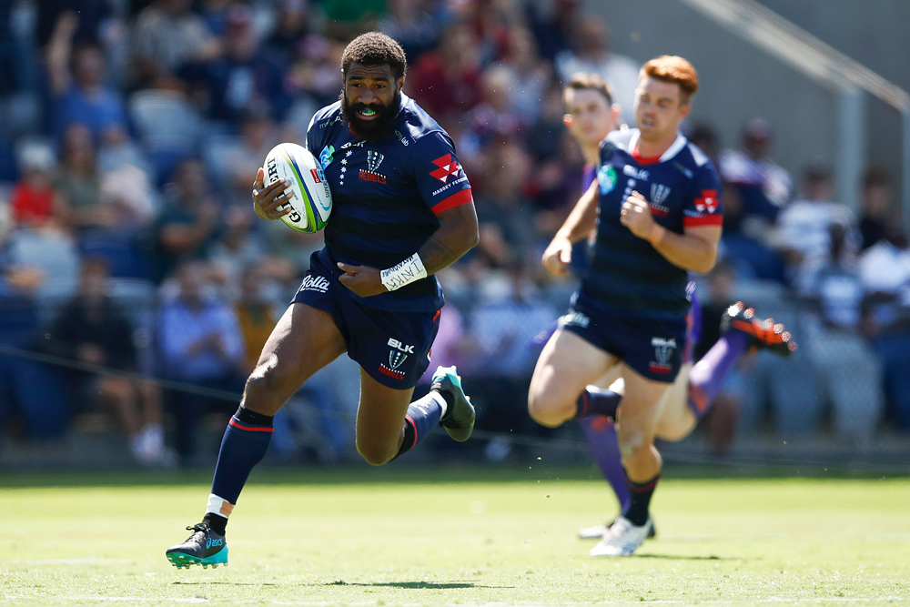 Marika Koroibete showed some spark for the Rebels. Photo: Getty images