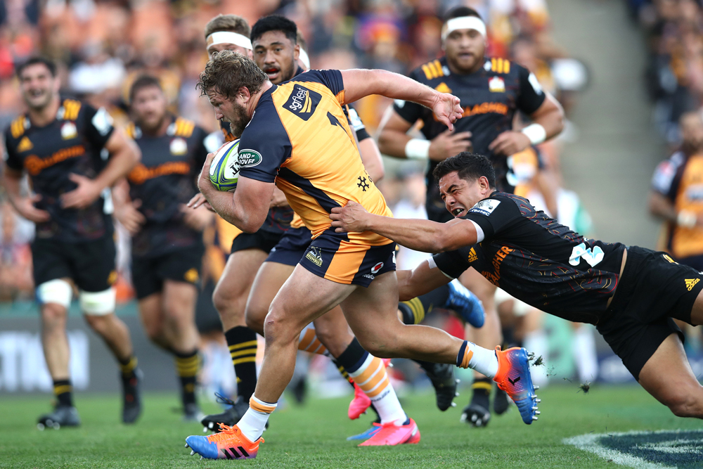 James Slipper set up a try but was binned in the second half. Photo: Getty Images