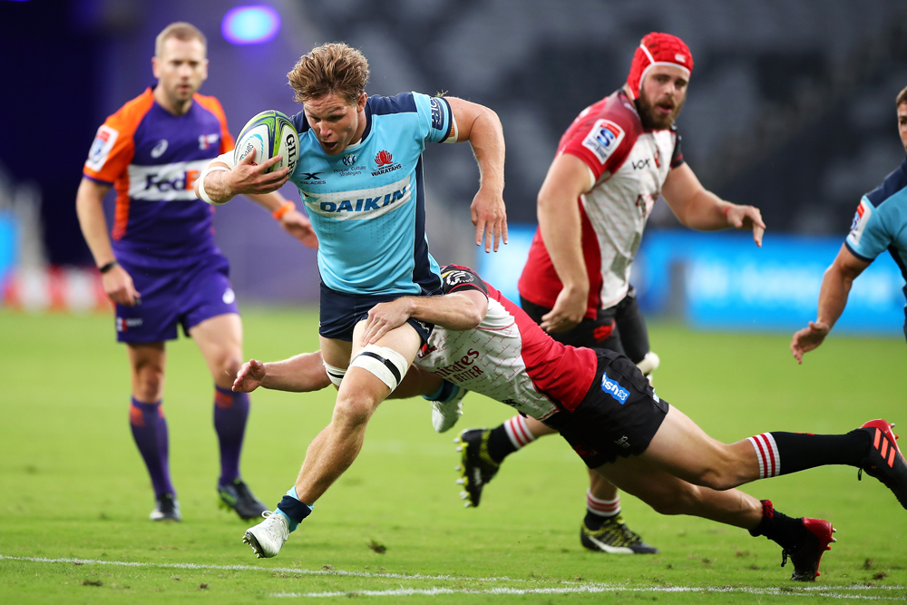 Michael Hooper was phenomenal for the Waratahs. Photo: Getty Images