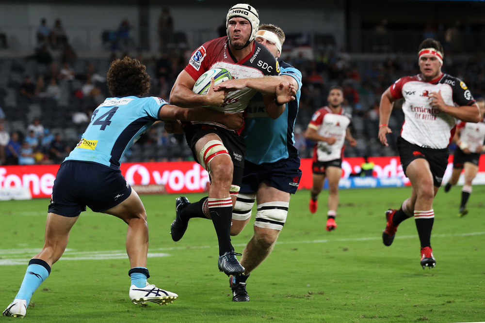 The Lions continued to claw their way back into the contest. Photo: Getty Images