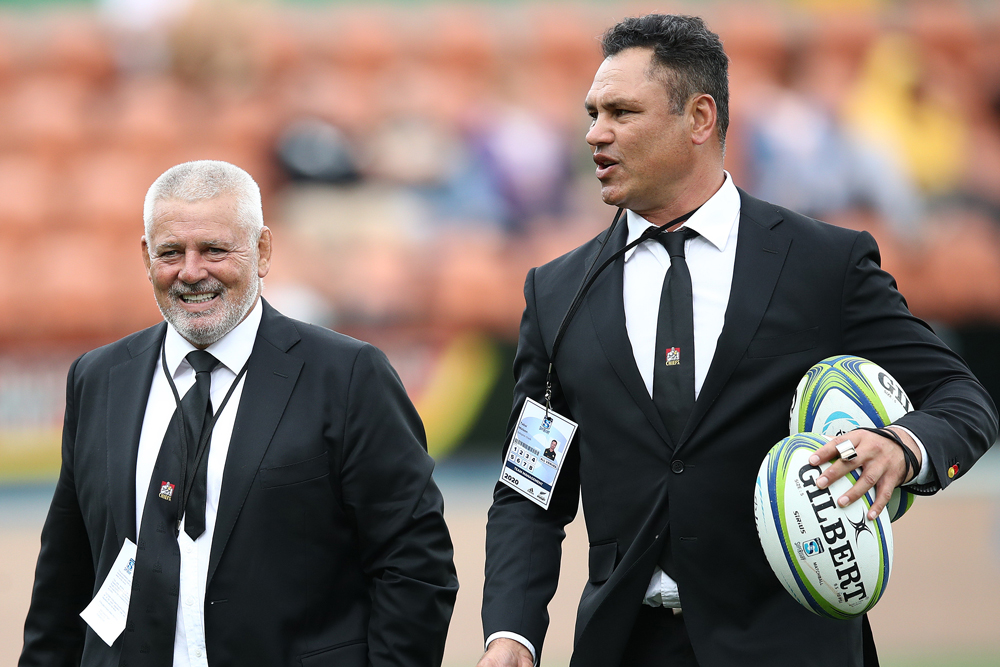Warren Gatland is enjoying his time in Super Rugby. Photo: Getty Images