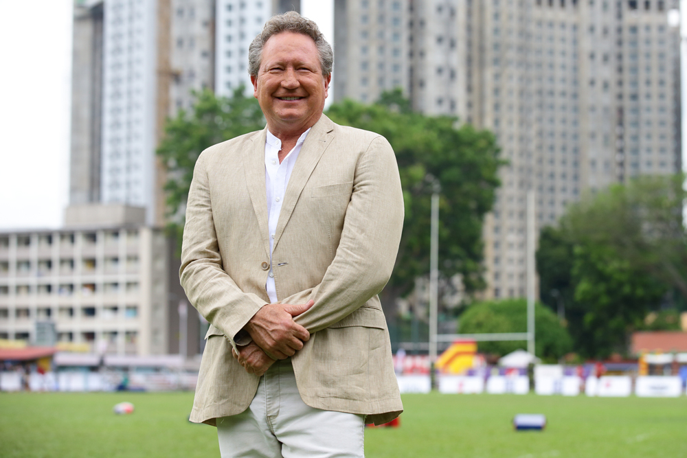 Andrew Forrest's Global Rapid Rugby competition kicks off on Saturday. Photo: Getty images