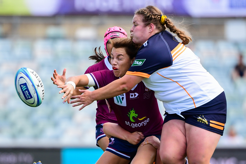 It was a hard fought win for Queensland. Photo: RUGBY.com.au/Sutart Walmsley
