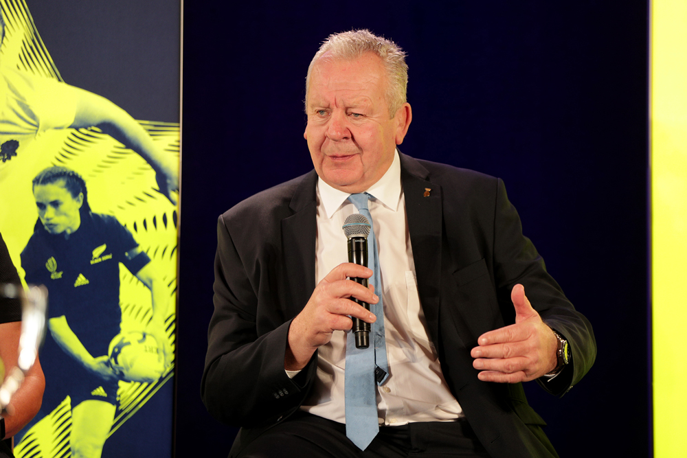 World Rugby chairman Bill Beaumont. Photo :Getty Images