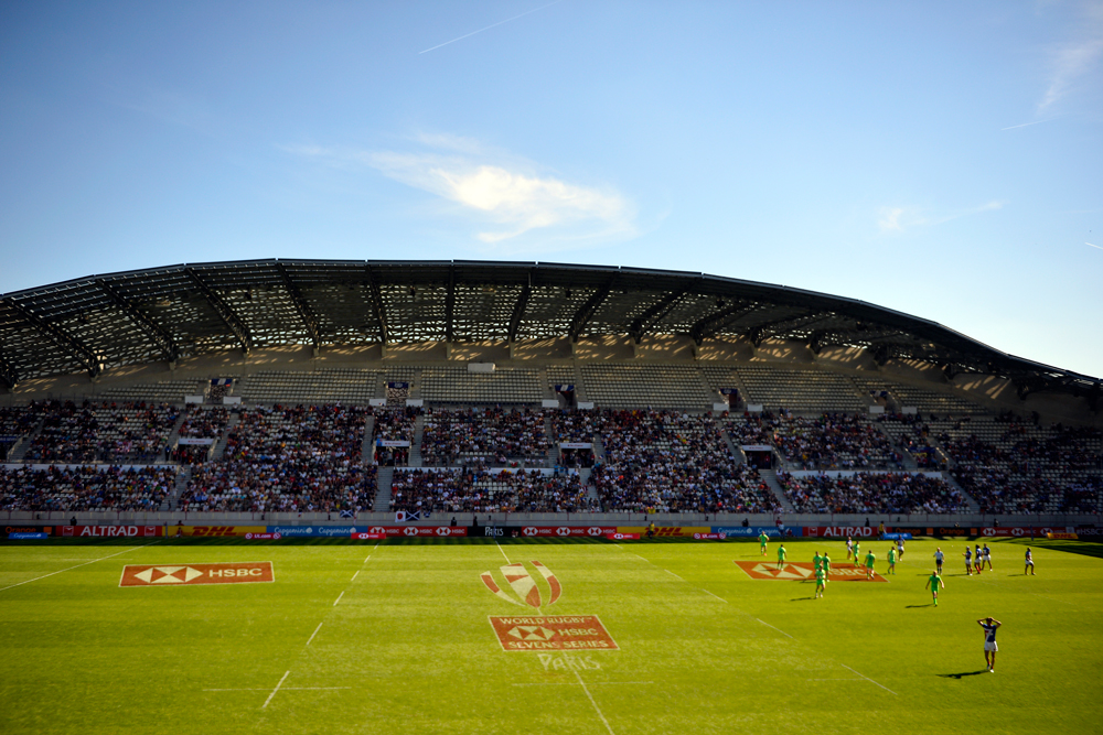 The 2020 Paris Sevens has been postponed, along with the remainder of the 2019-20 season. Photo: Getty Images