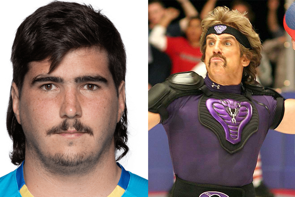 Evidently German Kessler and White Goodman have the same barber. Photo: Getty Images/Red Hour Films