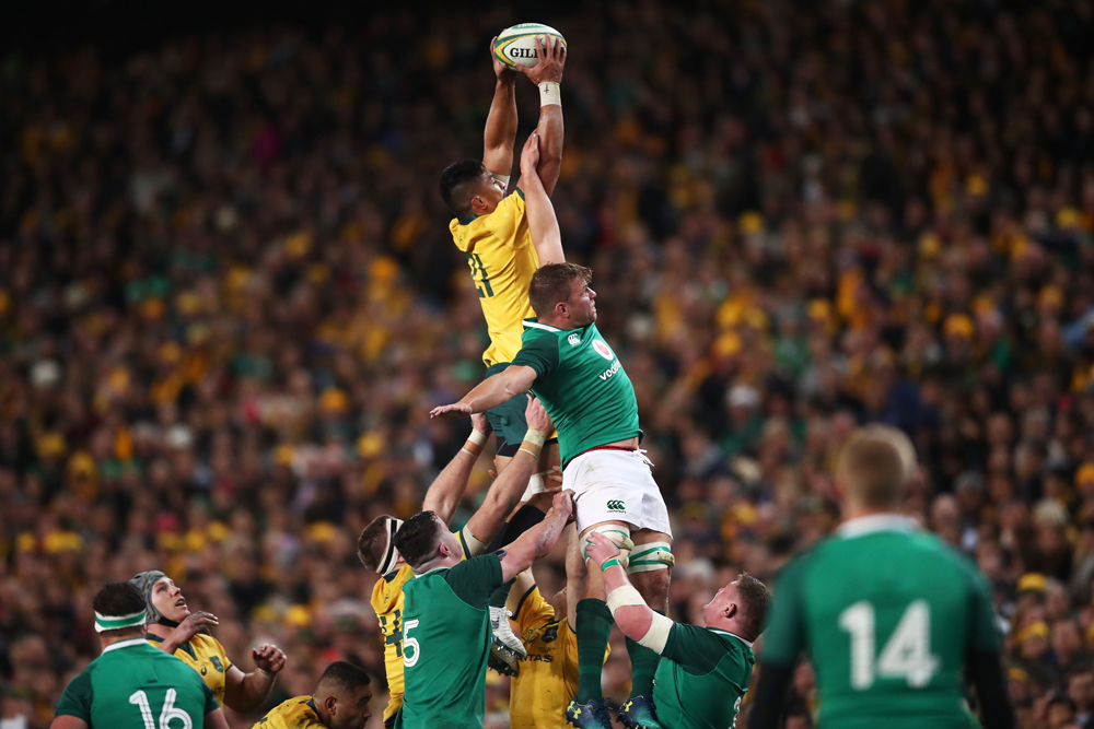 The Wallabies were set to take on Ireland in July. Photo: Getty Images
