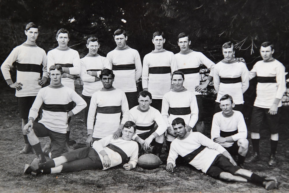 Bateman's Bay rugby union team, pictured in 1908. Photo: Supplied