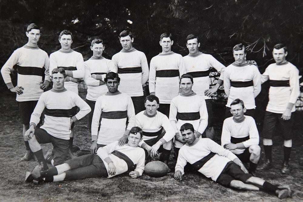 Bateman's Bay rugby union team, pictured in 1908. Photo: Supplied