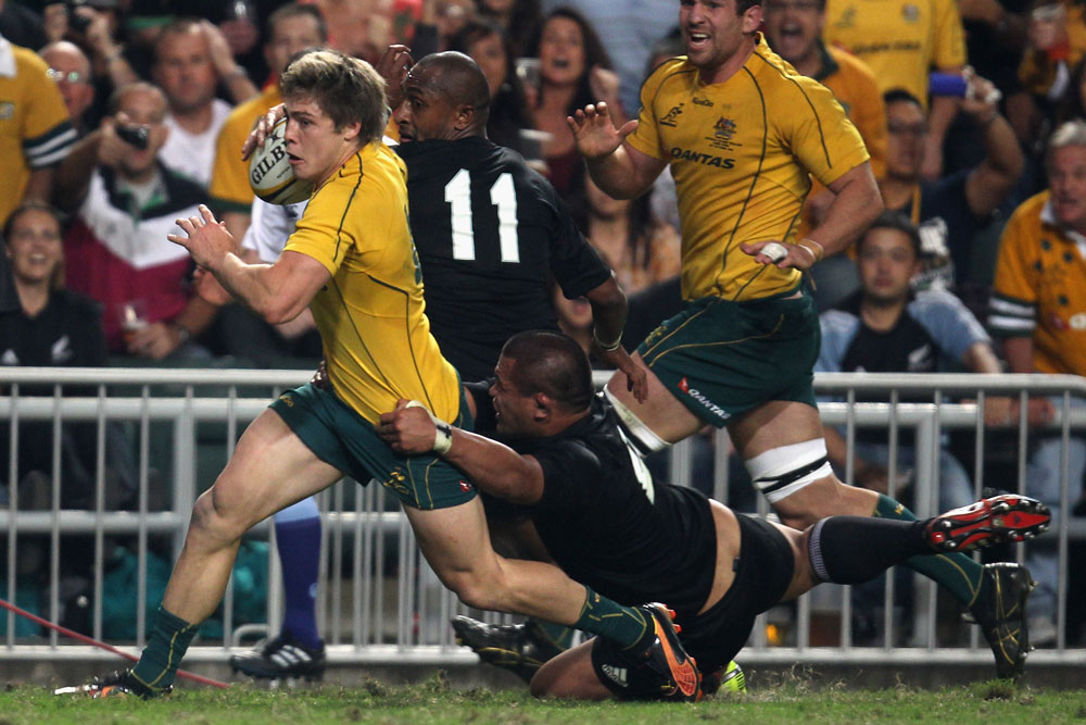 James O'Connor scored the final try of the game. Photo: Getty Images