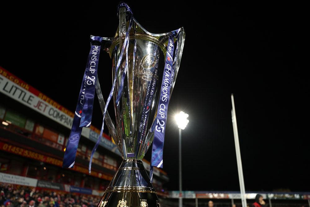 The Champions Cup trophy. Photo: Getty Images