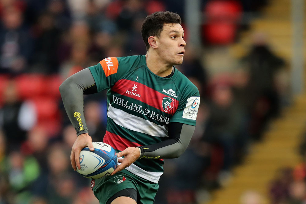 Matt To'omua spent three years with the Leicester Tigers. Photo: Getty Images