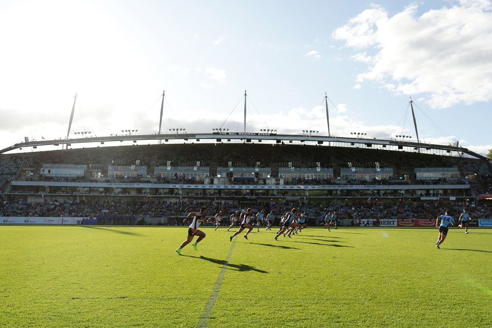 Brumbies coach Dan McKellar would be keen to see finals played in a new Super Rugby competition. Photo: Getty Images