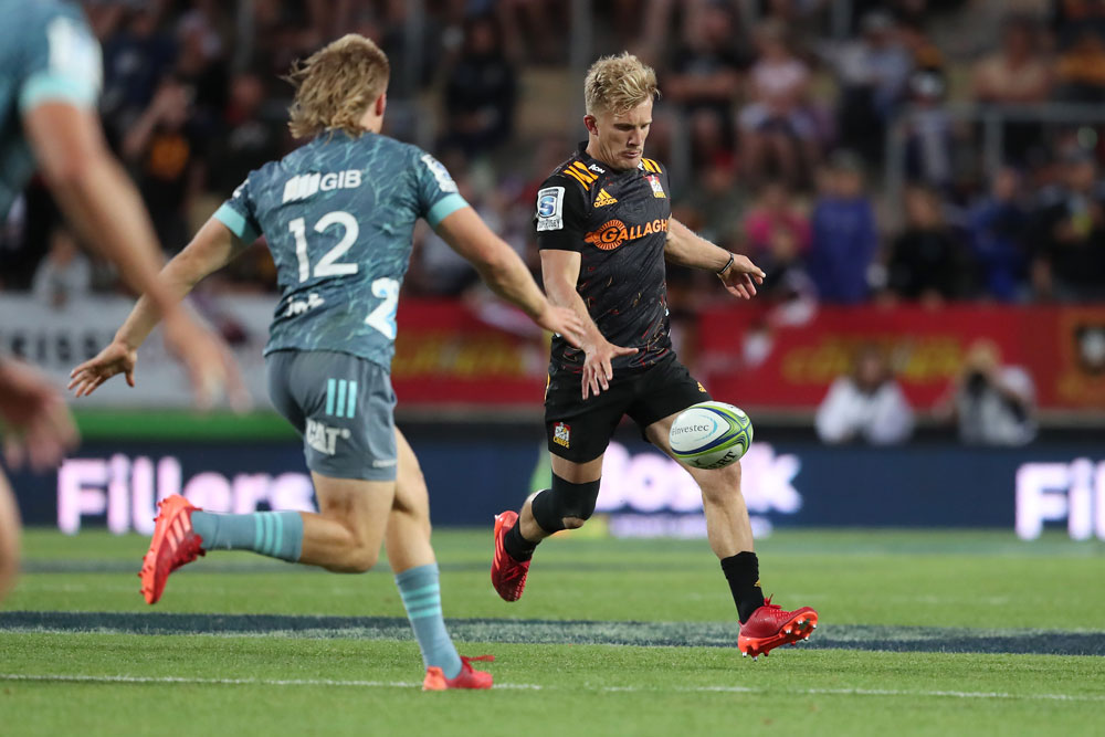 Damien McKenzie is one of the Kiwi stars who will be in action each week. Photo: Getty Images