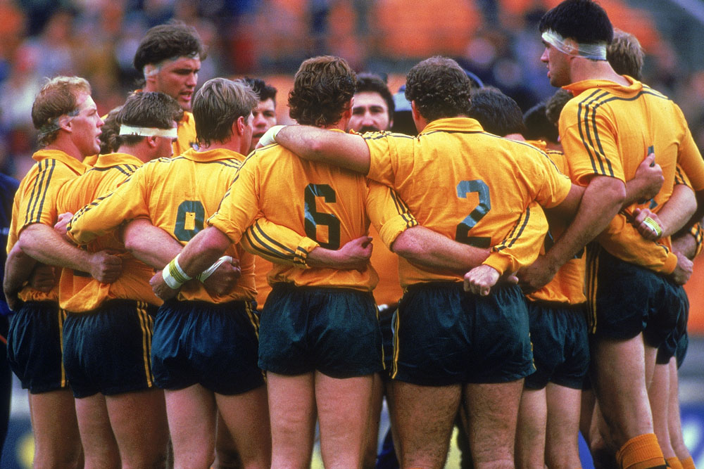 Tuynman was part of the 1987 Rugby World Cup side. Photo Getty Images