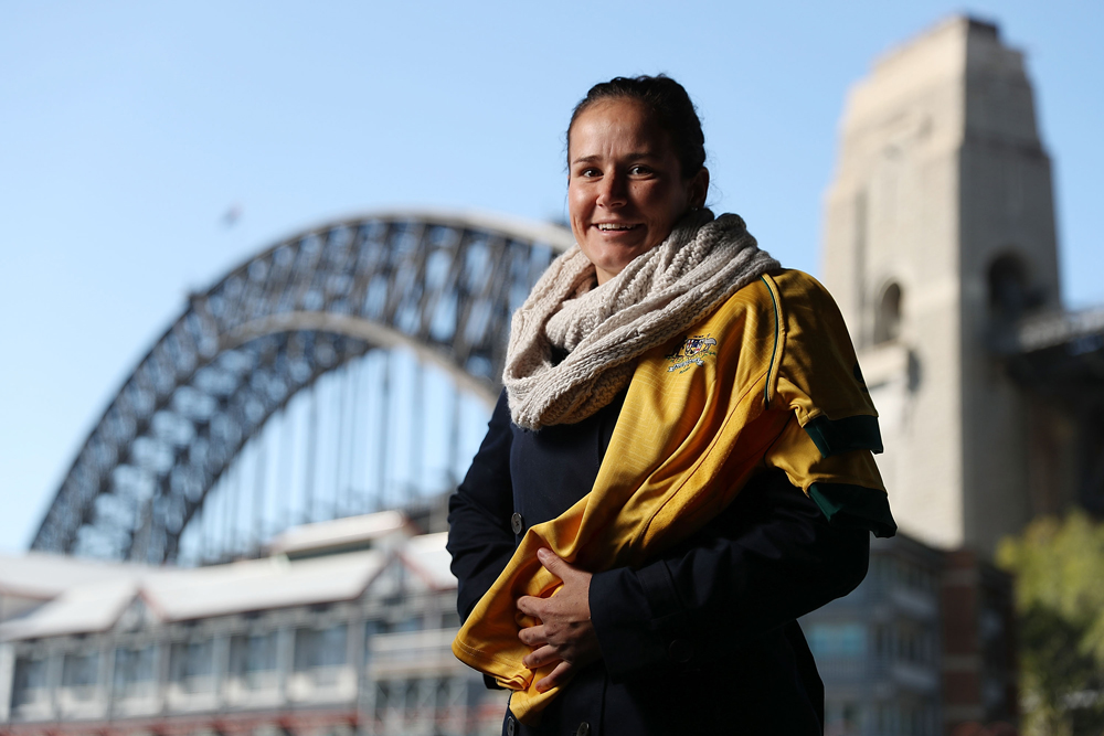Sevens co-captain Shannon Parry played in the 2017 Women's Rugby World Cup. Photo: Getty Images