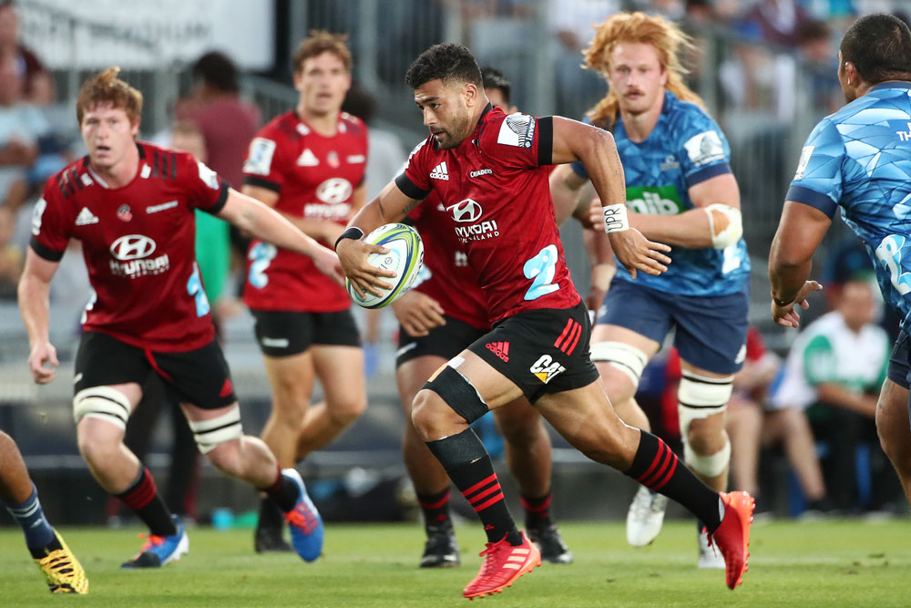 Richie Mo'unga has been a key part of the Crusaders' Super Rugby dominance. Photo: Getty Images