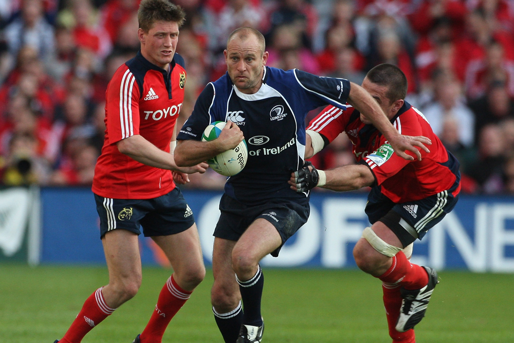 Chris Whitaker playing for Leinster. Photo :Getty Images