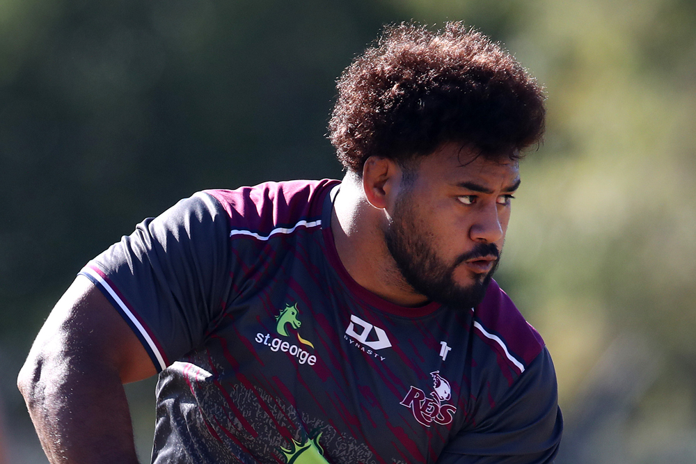 Taniela Tupou has been impressive in isolation training. Photo: getty Images