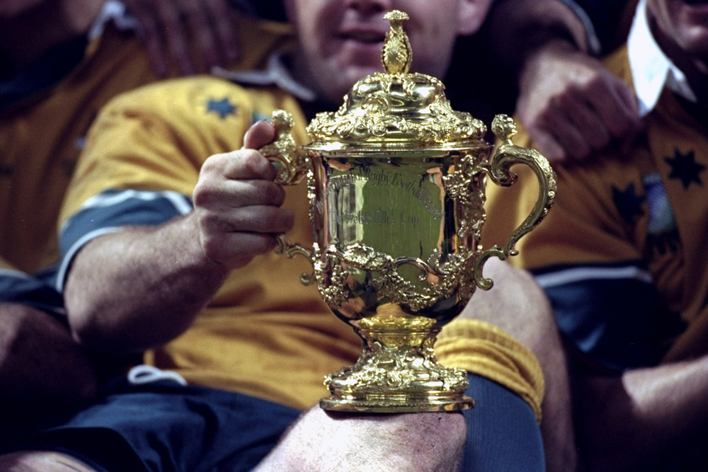 The Wallabies famously won the Rugby World Cup for the second time in 1999. Photo: Supplied