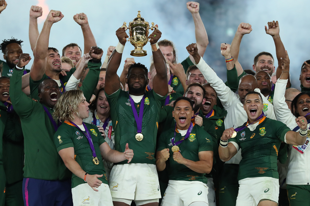 The Springboks took out the 2019 Rugby World Cup. Photo: Getty Images