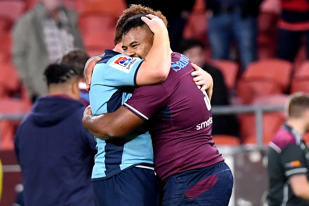 Taniela Tupou was sent off late in the game. Photo: Getty Images