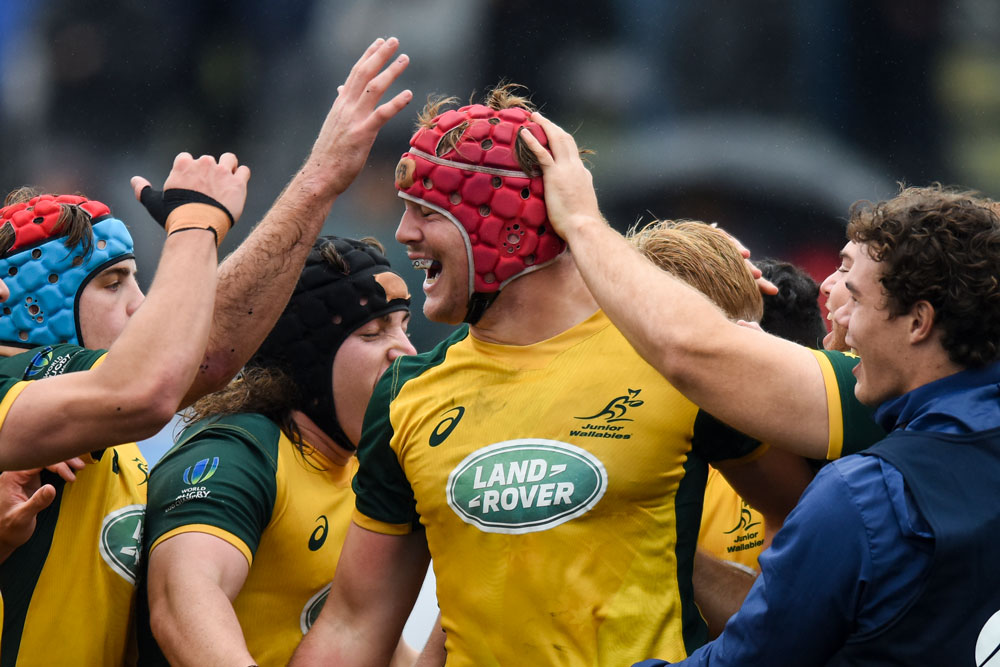 Wilson was an invaluable member of the Junior Wallabies 2019 Campaign. Photo: Getty Images