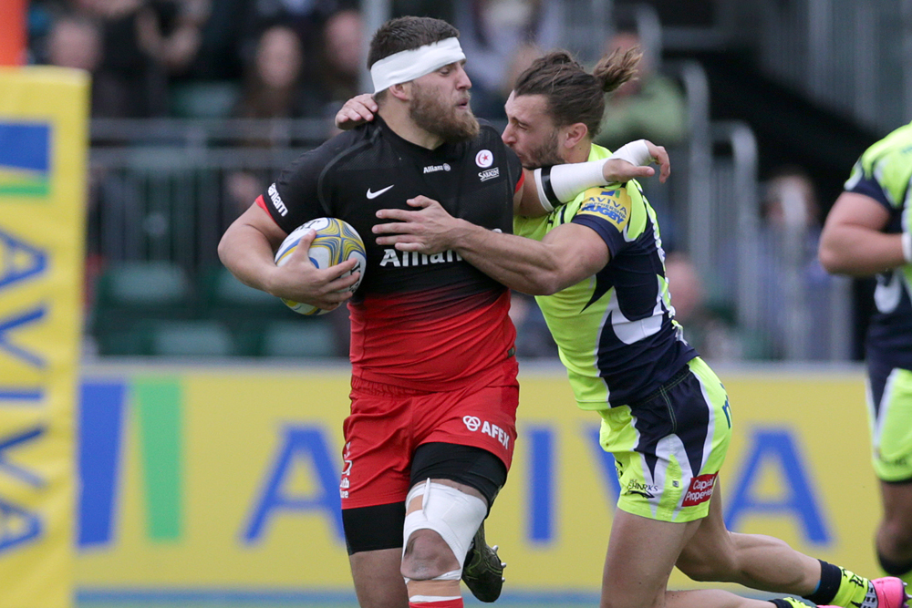Dave Porecki in action for Saracens. Photo: Getty Images