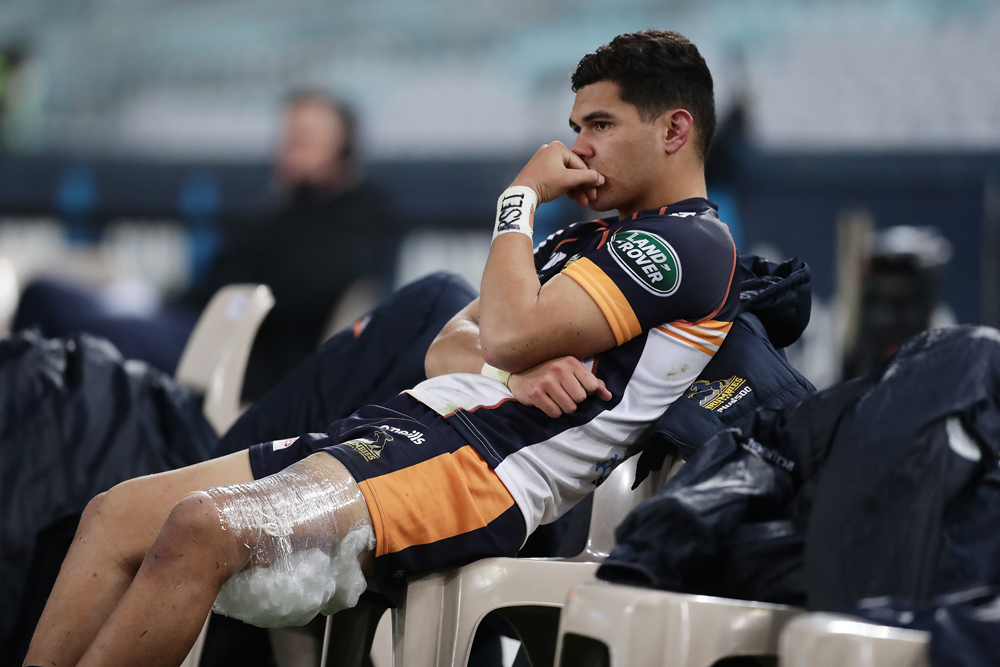 Noah Lolesio injured his hamstring last month. Photo: Getty Images